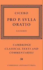 Cicero: Pro P. Sulla oratio (Cambridge Classical Texts and Commentaries, nr. 30)