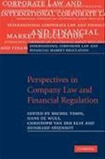Perspectives in Company Law and Financial Regulation (International Corporate Law and Financial Market Regulation)