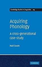 Acquiring Phonology