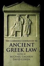 The Cambridge Companion to Ancient Greek Law af Michael Gagarin, David Cohen