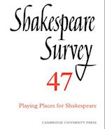 Shakespeare Survey af R A Foakes, Stanley W Wells, A D Nuttall