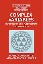 Complex Variables (Cambridge Texts in Applied Mathematics, nr. 35)