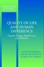 Quality of Life and Human Difference (Cambridge Studies in Philosophy and Public Policy)