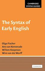 The Syntax of Early English (Cambridge Syntax Guides)