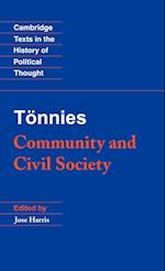 Tonnies: Community and Civil Society af Jose Harris, Margaret Hollis, Ferdinand Tonnies