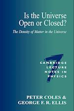 Is the Universe Open or Closed? af Peter Coles, Peter Goddard, George Ellis