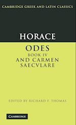 Horace: Odes IV and Carmen Saeculare af Horace, Richard Thomas