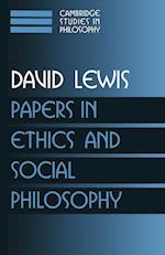 Papers in Ethics and Social Philosophy af David Lewis, Ernest Sosa, Frank Jackson