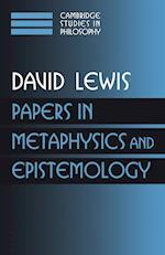 Papers in Metaphysics and Epistemology Volume 2 af Ernest Sosa, Gilbert Harman, J J Haldane