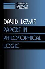 Papers in philosophical logic af David Lewis, Ernest Sosa, Frank Jackson