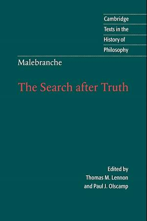 Malebranche: The Search after Truth