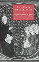 The First Universities: Studium Generale and the Origins of University Education in Europe