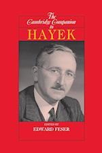 The Cambridge Companion to Hayek (Cambridge Companions to Philosophy Hardcover)