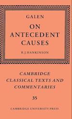 Galen: On Antecedent Causes af David Sedley, Galen, R J Hankinson