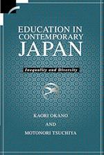 Education in Contemporary Japan af Michio Muramatsu, Chizuko Ueno, Motonori Tsuchiya