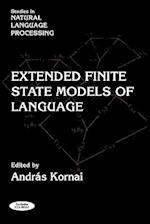 Extended Finite State Models of Language (Studies in Natural Language Processing)