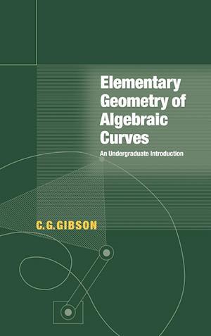 Elementary Geometry of Algebraic Curves: An Undergraduate Introduction