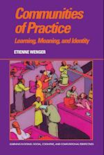 Communities of Practice (Learning in Doing : Social, Cognitive and Computational Perspectives)