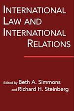 International Law and International Relations (International Organization)