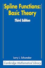 Spline Functions: Basic Theory (Cambridge Mathematical Library)