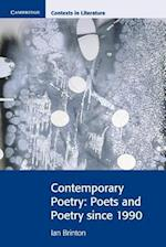 Contemporary Poetry (Cambridge Contexts in Literature)