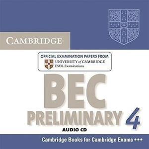 Cambridge BEC 4 Preliminary Audio CD