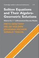 Soliton Equations and Their Algebro-Geometric Solutions: Volume 2, (1+1)-Dimensional Discrete Models (CAMBRIDGE STUDIES IN ADVANCED MATHEMATICS, nr. 114)