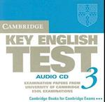 Cambridge Key English Test 3 Audio CD (Ket Practice Tests)