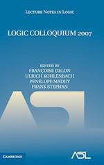 Logic Colloquium 2007 af Francoise Delon, Frank Stephan, Ulrich Kohlenbach