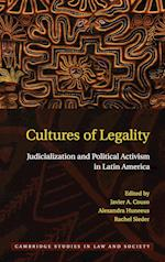 Cultures of Legality (Cambridge Studies in Law and Society Hardcover)