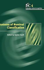 Systems of Nominal Classification af Gunter Senft