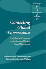Contesting Global Governance af Chris Brown, Thomas Biersteker, Steve Smith