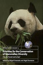 Priorities for the Conservation of Mammalian Diversity (Conservation Biology Paperback, nr. 3)