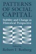 Patterns of Social Capital af Robert I. Rotberg