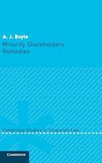 Minority Shareholders' Remedies (Cambridge Studies in Corporate Law, nr. 2)