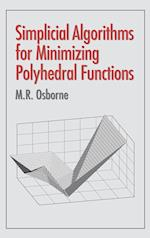 Simplicial Algorithms for Minimizing Polyhedral Functions