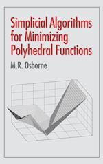 Simplicial Algorithms for Minimizing Polyhedral Functions af Osborne