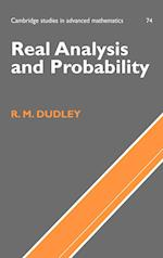 Real Analysis and Probability (CAMBRIDGE STUDIES IN ADVANCED MATHEMATICS, nr. 74)