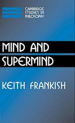 Mind and Supermind af Keith Frankish
