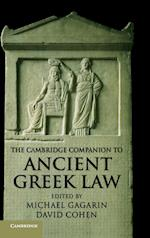 The Cambridge Companion to Ancient Greek Law af David Cohen, Michael Gagarin