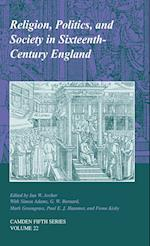 Religion, Politics, and Society in Sixteenth-century England af Paul E J Hammer, Fiona L Kisbey, Simon Adams