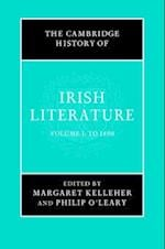 The Cambridge History of Irish Literature 2 Volume Hardback Set