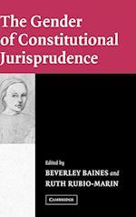 The Gender of Constitutional Jurisprudence