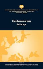 Pure Economic Loss in Europe (The Common Core of European Private Law, nr. 28)
