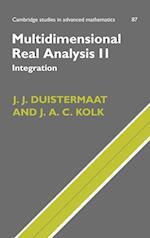 Multidimensional Real Analysis II (CAMBRIDGE STUDIES IN ADVANCED MATHEMATICS, nr. 87)
