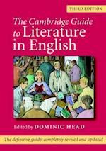 The Cambridge Guide to Literature in English af Dominic Head
