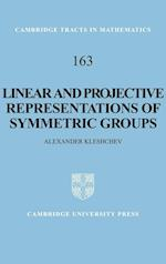Linear and Projective Representations of Symmetric Groups (CAMBRIDGE TRACTS IN MATHEMATICS, nr. 163)