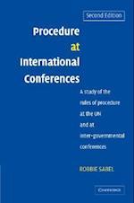 Procedure at International Conferences