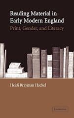 Reading Material in Early Modern England af Heidi Brayman Hackel