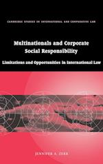 Multinationals and Corporate Social Responsibility (Cambridge Studies in International And Comparative Law, nr. 48)